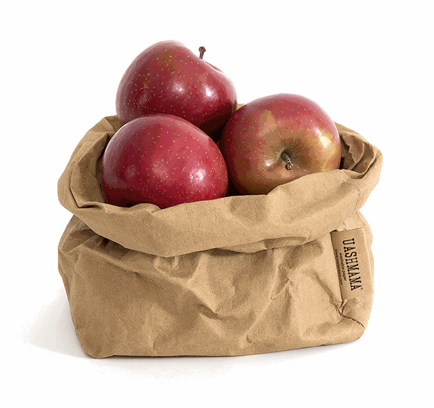 Uashmama Medium Paper Bag, Natural (199-MPBNAT)