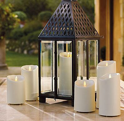LED-lys Outdoor Ivory 9x23cm