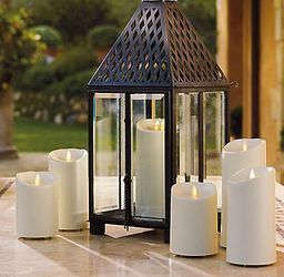 Luminara LED-lys Outdoor Ivory 9x23cm