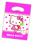 Hello Kitty Godteposer m/motiv, (6 pk) Alltid en