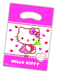 Hello Kitty Godteposer m/motiv, (6 pk)