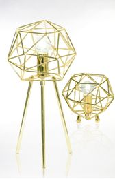 Globen Lighting Bordlampe Diamond - messing