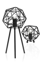 Globen Lighting Bordlampe Diamond - svart
