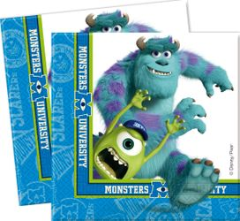 Monsters, Inc Servietter - 20 stk