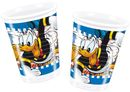 Donald Duck Plastkopper, 200ml (8 stk)