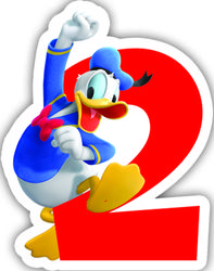 Donald Duck Kakelys nr 2