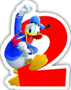 Donald Duck Kakelys nr 2 (126-83150)
