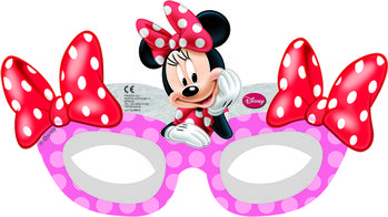 "Minnie Mus ""Minnie's Cafe"" Papirmasker - 6 stk"