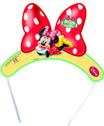 "Minnie Mus ""Minnie's Cafe"" Tiara - 6 pk"
