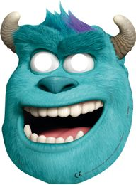 Monsters, Inc Papirmasker - 6 stk