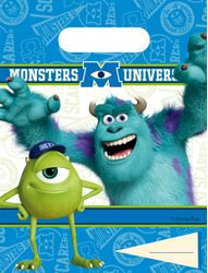 Monsters, Inc Godteposer m/motiv, (6 pk)