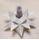 Bloomingville XMAS Lysholder Stjerne 3D Hvit (152-27100046)