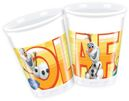 Olaf Summer Plastkopper 8 stk, 200ml