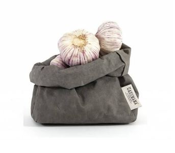 Uashmama Large Paper Bag, Darkgrey (199-LDGY)