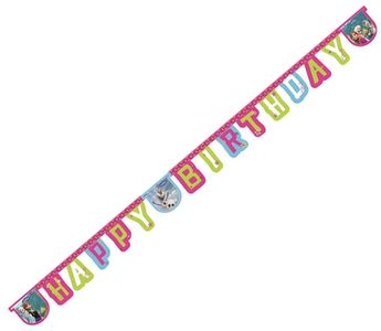 Frozen Happy Birthday banner 2.15m (126-84629)