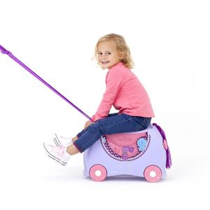 Trunki Barnekoffert Hest Bluebell, Lilla (107-0185-GB01)