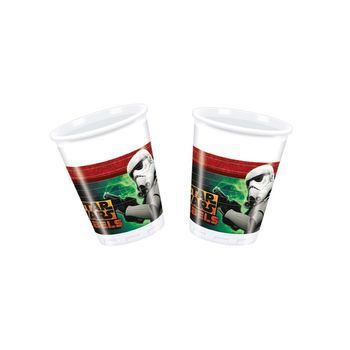 Star Wars Plastkopper 200ml, 8 stk (126-84417)