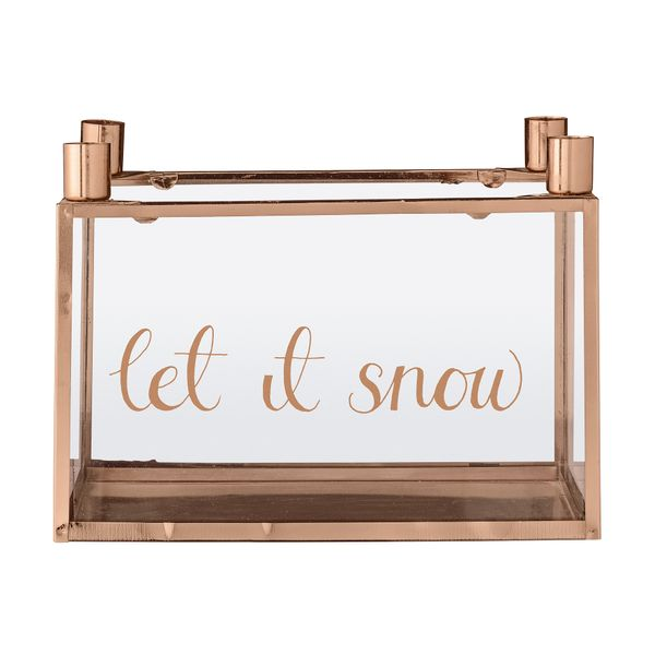 """Adventsstake """"let it snow"""""""