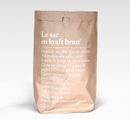 "BE-POLÊS Paperbag Brown 66L ""Le-sac-en-kraft-brun"""