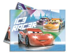 Cars Ice Plastduk str. 120x180 cm