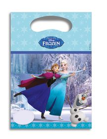 Frozen Ice Skating Godteposer m/motiv, (6 pk)