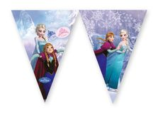 Frozen Ice Skating Triangel flaggbanner, 1 stk