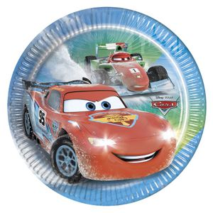 Cars Ice Papptallerkner,  medium (20 cm) (126-84835)