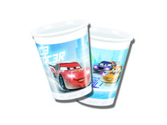 Cars Ice Plastkopper, 200ml (8 stk)