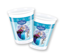 Frozen Ice Skating Plastkopper 200ml, 8 stk