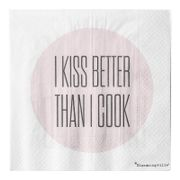 Bloomingville Servietter, I Kiss Better..