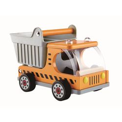 HAPE Dumper Truck, orange/ grå