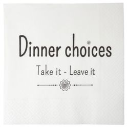 Ib Laursen Servietter - Dinner Choices