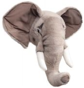 BiBiB & Co Dyrehode Elefant 40cm (Brigbys)