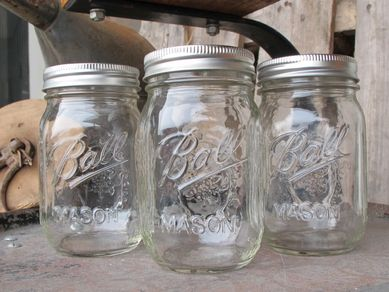 Ball Mason Jar Drikkeglass