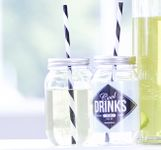 House Doctor Drikkeglass - med sugerør cool drinks to go (151-Hr0801)