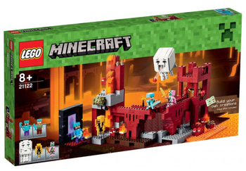 LEGO® Minecraft Nether borgen, med minifigurer