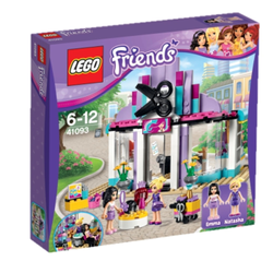 LEGO® Friends Heartlakes frisørsalong, med minifigurer