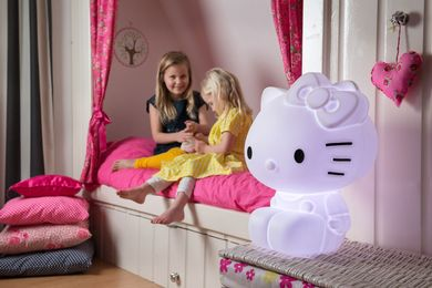 Hello Kitty LED lampe med fjernkontroll (269-129604)