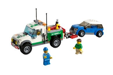 LEGO® City Pickup tauebil, to minifigurer (158-60081)