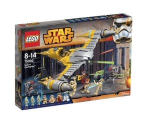 Lego® Star Wars Naboo Starfighter, med minifigurer