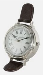 Light & Living Bordklokke WATCH nikkel, H25cm