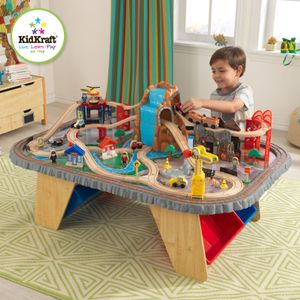 KidKraft Lekebord Togsett Waterfall Junction (101-17498)