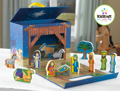 Reisesett Playbox, Nativity Scene