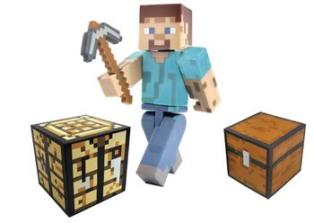 Minecraft Survival Pack med Steve-figur