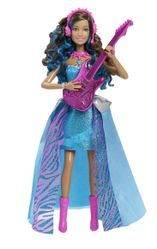 Barbie Co-Lead Princess dukke, 2-i-1