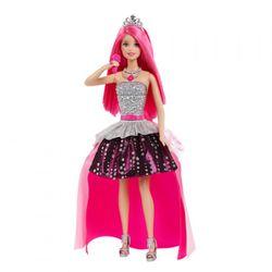 Barbie Lead Princess dukke, 2-i-1