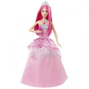 Barbie Lead Princess dukke, 2-i-1 (164-0887961163902)