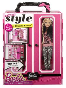 Barbie Closet and Fashions lekesett (164-0746775377014)