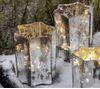 Light & Living Telysholder stjerne sparkle, H20cm (273-6139135)