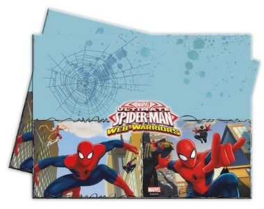 Ultimate Spiderman Web Warriors Plastduk str 120x180 cm (126-85155)